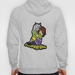 Asriel and Frisk/Chara Hoody