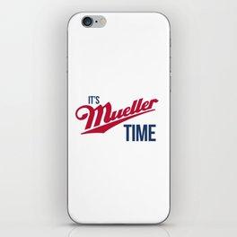 Mueller Time iPhone Skin