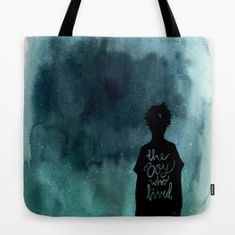 the boy Tote Bag