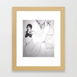 Del mar Framed Art Print