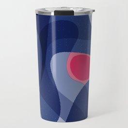 Evolution of a Dot | Modern Happy Art Travel Mug