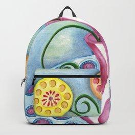 Lollipop Flowers Backpack