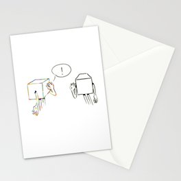 Speaking of Art Little Cubes Stationery Cards