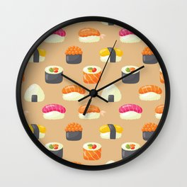 Sushi Yes Please Wall Clock
