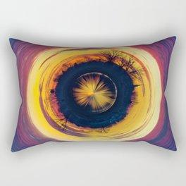 Color Sunset 4 - Geometric Rectangular Pillow