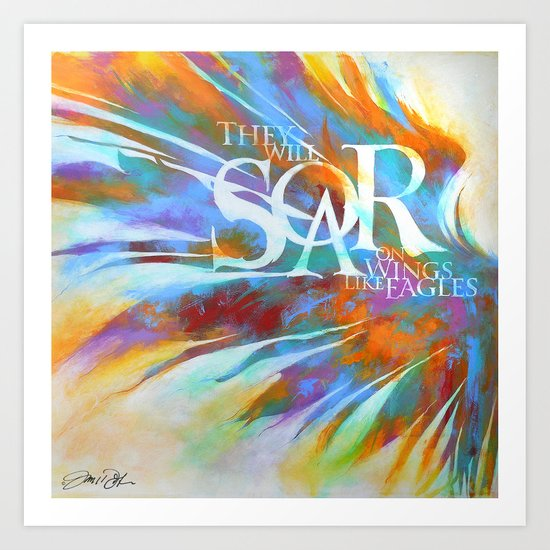 Soar Art Print