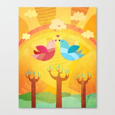 L'Amour... Canvas Print