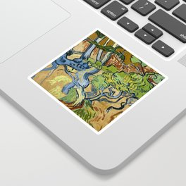 Tree Roots by Vincent van Gogh (July 1890) Sticker