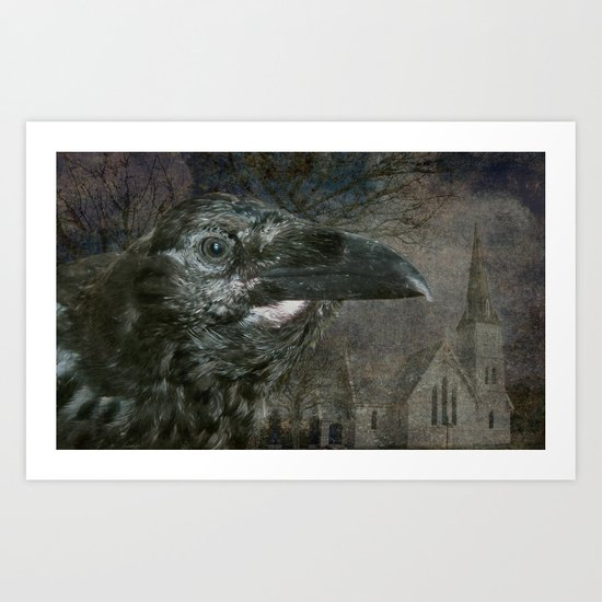 Raven - NeverMore Art Print