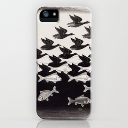 escher - be different iPhone Case