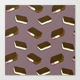 Ice Cream Sandwiches Canvas Print