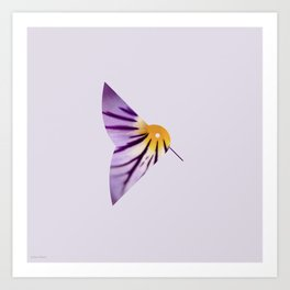 Minanimals: Hummingbird Art Print