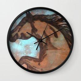 Dream Horse (copper) Wall Clock