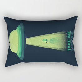 Take Me Home Rectangular Pillow