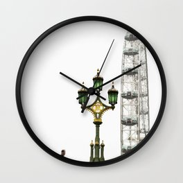 panoramic wheel Wall Clock