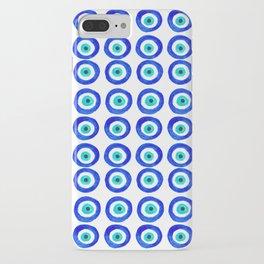 Evil Eye Amulet Talisman - on white iPhone Case