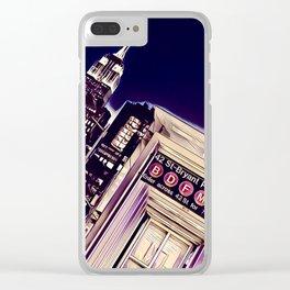 Bryant Park Clear iPhone Case