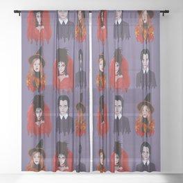 The Strange & Unusual Girls Sheer Curtain