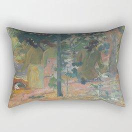 Paul Gauguin - The Bathers Rectangular Pillow