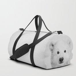 Polar Bear - Black & White Duffle Bag