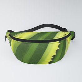 Vibrant, Lush Green Succulent Fanny Pack