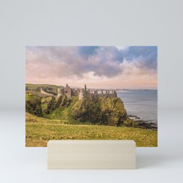 The old castle Mini Art Print