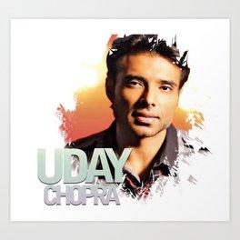 Uday Chopra Tees Art Print