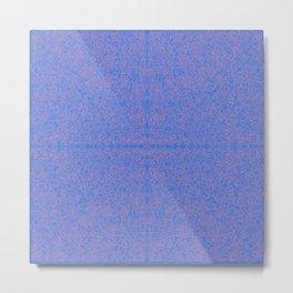 2 edged hearts pattern Metal Print