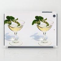 martini iPad Cases featuring  Peppermint Martini by Guna Andersone & Mario Raats - G&M Studi