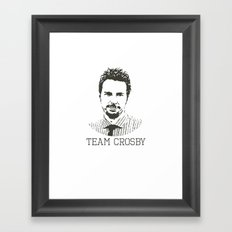 Team Crosby Framed Art Print