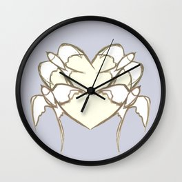 s1 heart Wall Clock