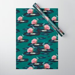 Ophelia's Lily & Dragonfly Wrapping Paper
