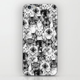 just cats iPhone Skin