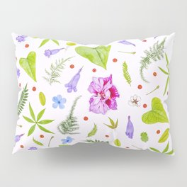 Leaves and flowers (8) Pillow Sham