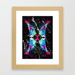 二十二 (Èrshí'èr) Framed Art Print