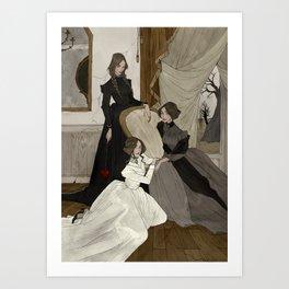 The Fox Sisters Art Print