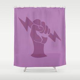 Bioshock Infinite Vigors - Shock Jockey Shower Curtain