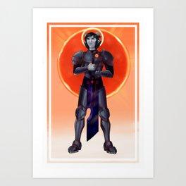 For the Doom of Gunmar Art Print