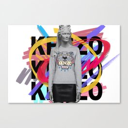 high snob 5 Canvas Print