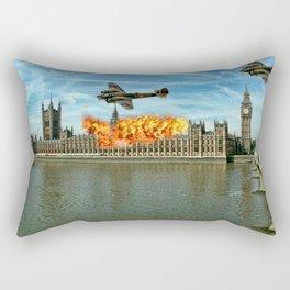 Houses of Parliament London Rectangular Pillow