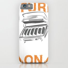 I turned Grills On iPhone Case