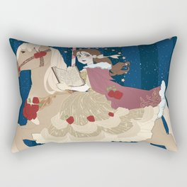 Carousel: Head in the Clouds  Rectangular Pillow