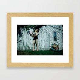 Laila Framed Art Print