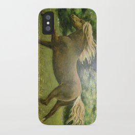 Lonely Gallop iPhone Case