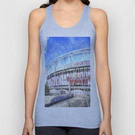 West Ham Olympic Stadium London Art Unisex Tank Top