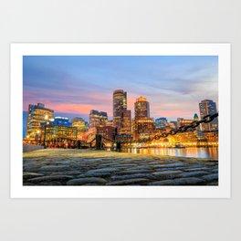 Boston 01 - USA Art Print