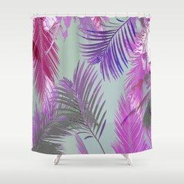 California Dreaming Purple Shower Curtain