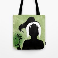 rogue Tote Bags featuring Rogue by Sprite
