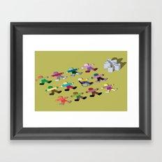 Break the mold (handicap) Framed Art Print