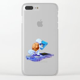Childhood Feels Clear iPhone Case